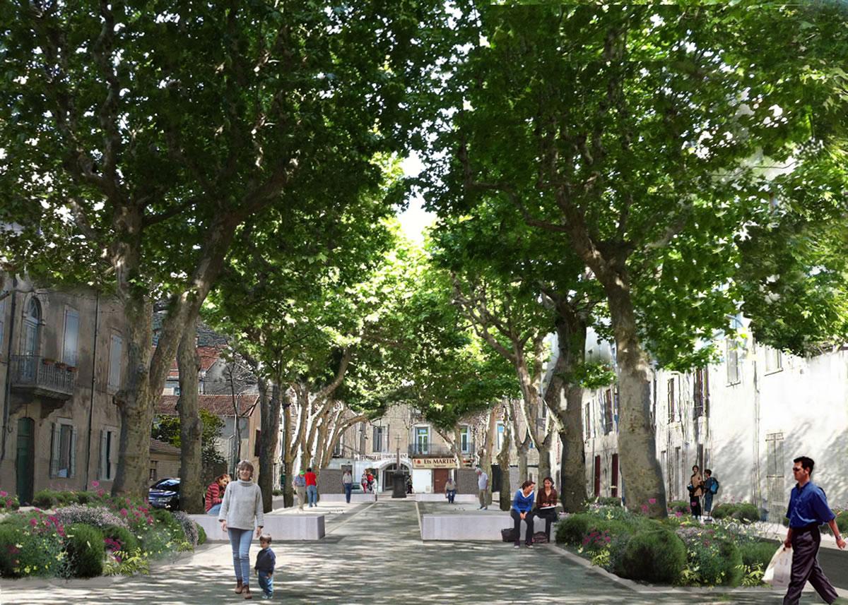 Restructuration cours de la r publique ganges nemis for Boulodrome montpellier