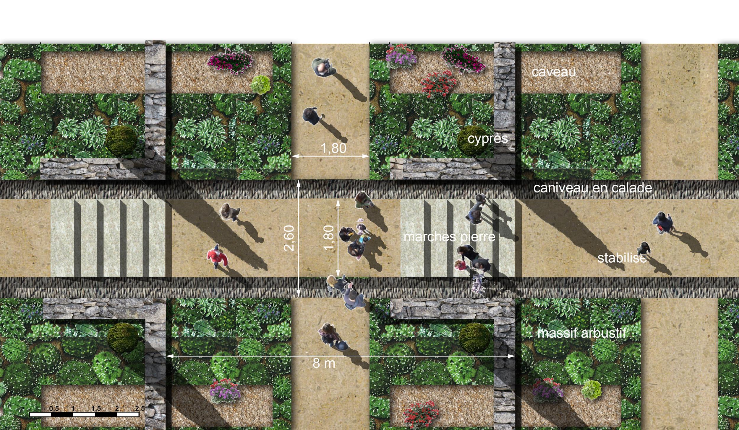 detail plan site-Cimetiere St Clement