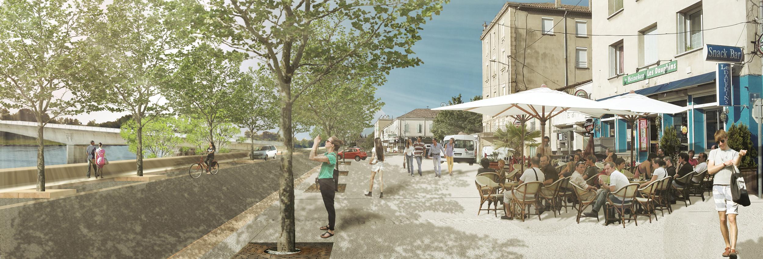 Bourg Saint Andeol - quai-4
